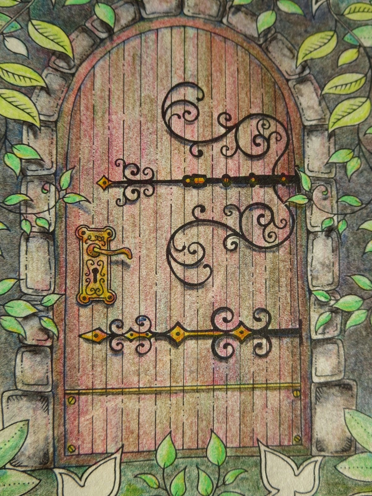 Gate clipart secret garden Secret book Pencils: 1 for