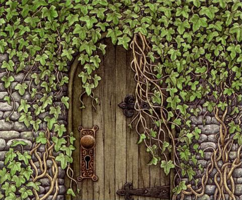 Gate clipart secret garden On garden images best about