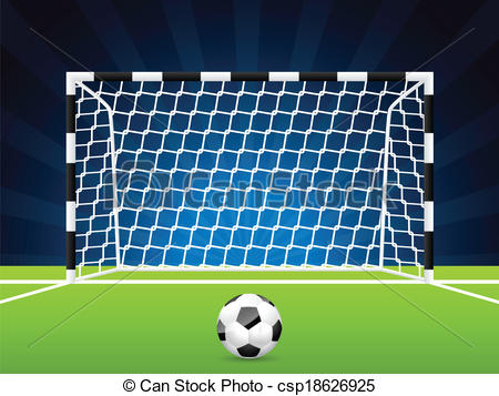 Gate clipart soccer Csp18626925 and Vector of