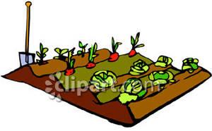 Gate clipart vegetable patch Garden Clipart Clipart Digital Cute