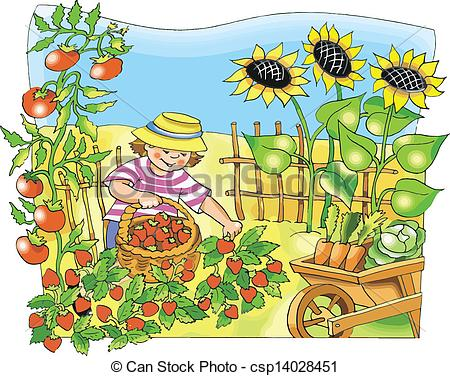 Garden clipart drawing Historical is Laura Boy by