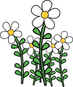 Garden clipart flower cartoon #1