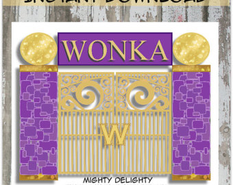 Gate clipart wonka Download! by Gate Mighty on