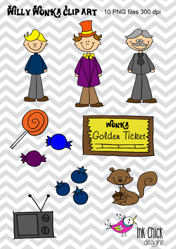 Gate clipart wonka The Wonka Willy Clip Factory
