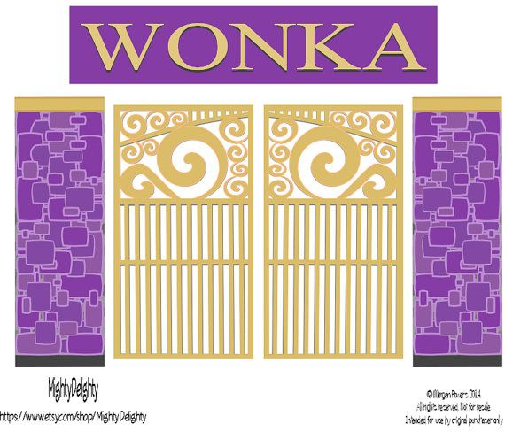 Gate clipart wonka On images Pinterest 260 about