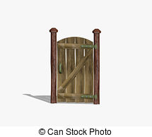 Gate clipart wood gate Or texture wooden Background gate
