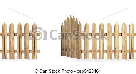 Gate clipart wood gate Clipart gate art (60+) clip