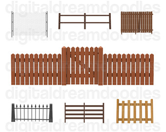 Gate clipart wood gate Graphic Chain Image Door Gate