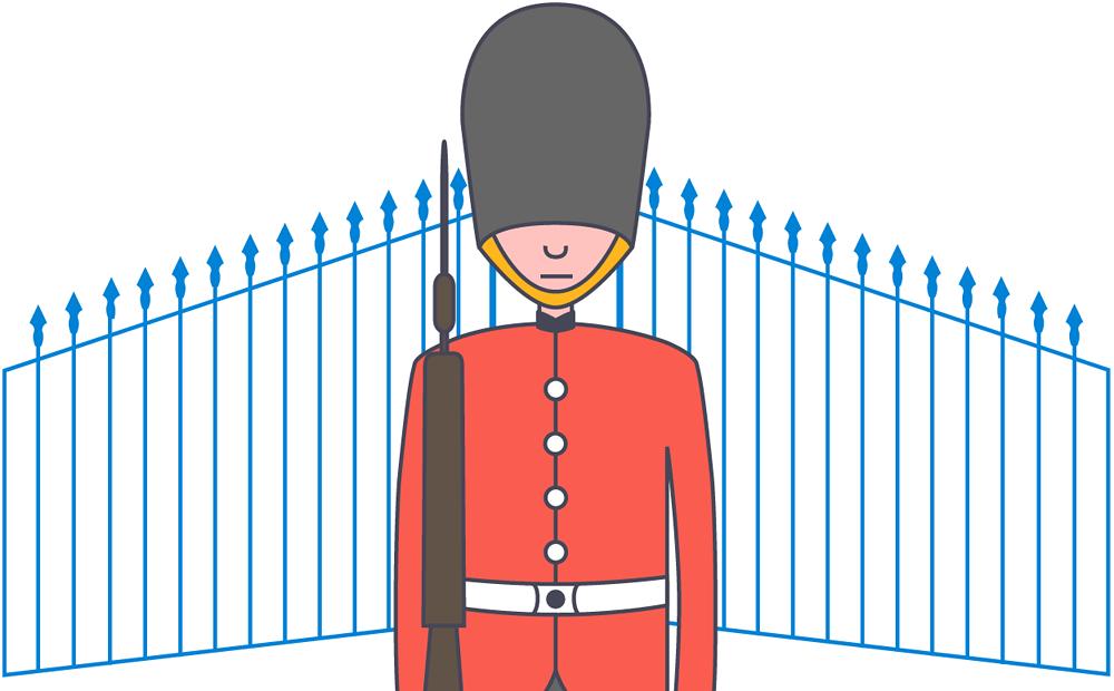 Gate Keeper clipart Net hotelroomsearch Gatekeeper gatekeeper