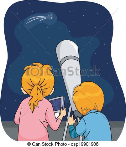 Gaze clipart  Illustration Gazing Kids Star