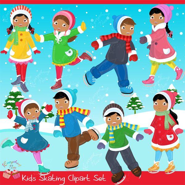 Winter clipart fun kid Images Bingo Kids Best activities