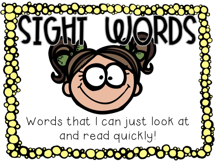 Word clipart sight word Sight clipart Words collection Sight