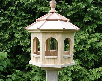 Gazebo clipart amish Etsy Handmade bird Feeder Gazebo