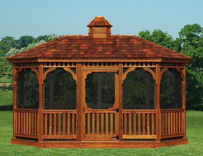 Gazebo clipart amish Manlius Amish Amish Oval Wood