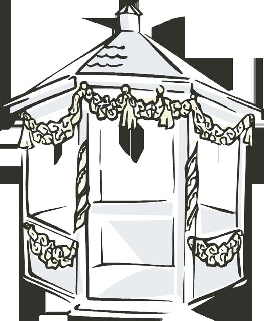 Gazebo clipart pavilion Wedding cliparts Gazebo Gazebo Clipart