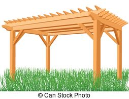 Gazebo clipart pergola Isolated Stock Gazebo Illustrations background