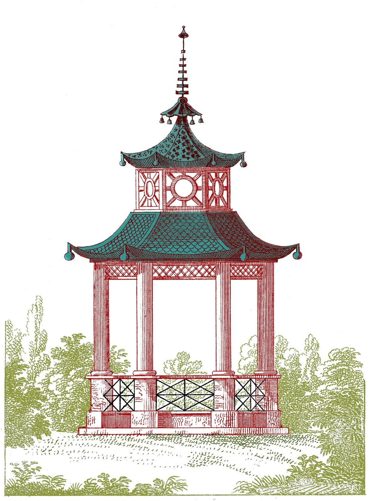 Gazebo clipart victorian – Gazebo Fairy Pagoda Garden
