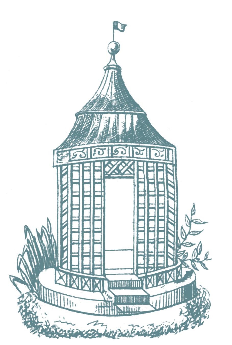 Gazebo clipart victorian French Garden – Graphic French