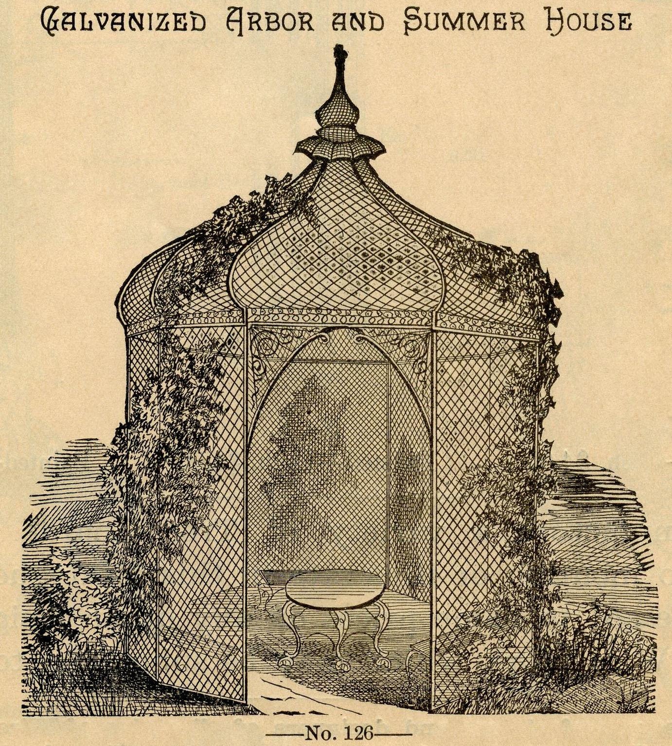 Gazebo clipart victorian – Vintage Gazebo Garden Beautiful