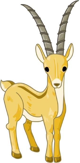 Gazelle clipart 88 Free Gazelle Clip Art