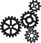 Gears clipart smart brain GoGraph Growing Free Background with