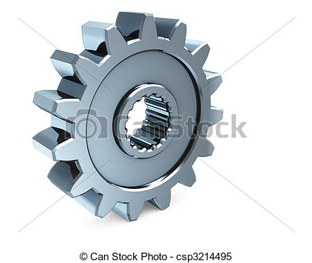Gears clipart 3d gear Search 3D 3D Free Search