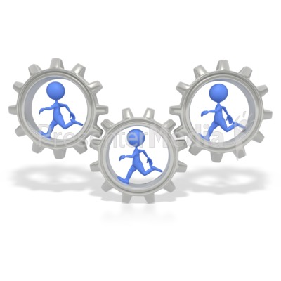 Gears clipart 3d gear PowerPoint Gears ID# Running and