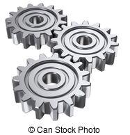 Gears clipart 3d gear 104 images 3D three gears