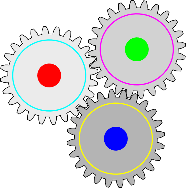Gears clipart animation Alves Impossible art vector