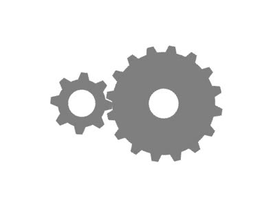 Gears clipart animation Bevels  3D powerpointy