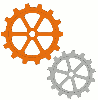 Gears clipart animation Clipart Gears Art Download Free