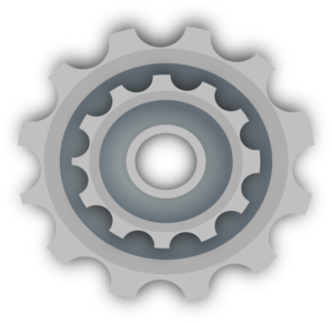 Gears clipart bicycle gear Online Clip at art royalty
