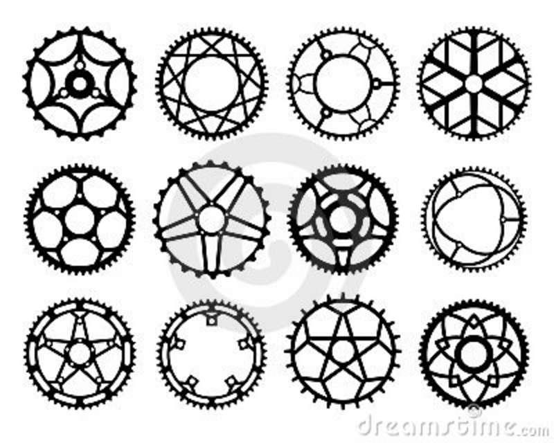 Gears clipart bicycle gear Chain Fox dreamstime jpg logo