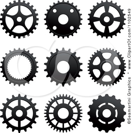 Gears clipart bike part On Bicycle Clipart best Clip