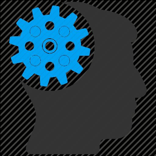 Gears clipart brain memory Technology brain technology  engineering