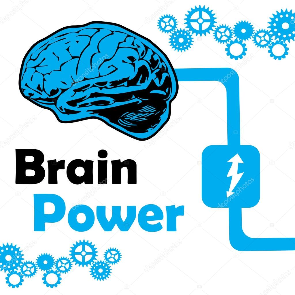 Gears clipart brain power #42132981 background gears colorful Vector