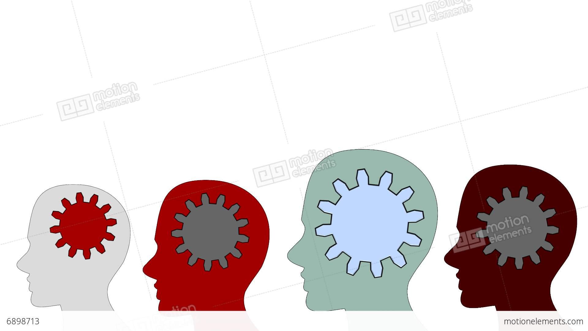 Gears clipart brain power  inside on rotate Teamwork