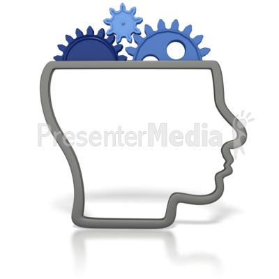 Brains clipart gear clipart Head Gears with for a