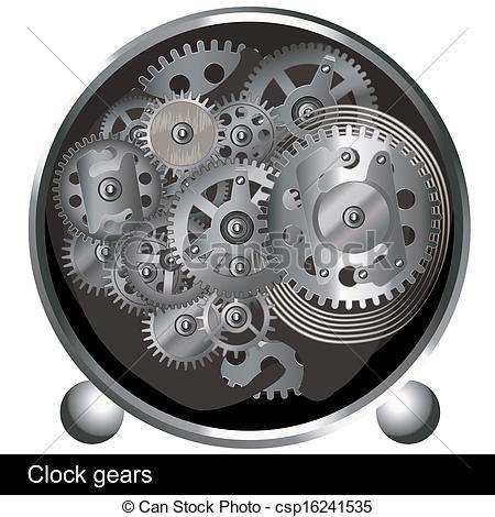 Gears clipart clock gear Gears a Vector gears of