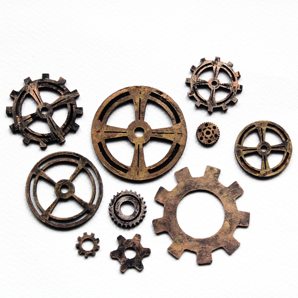 Gears clipart clock gear  Wheels Steampunk Steampunk nemesis2207