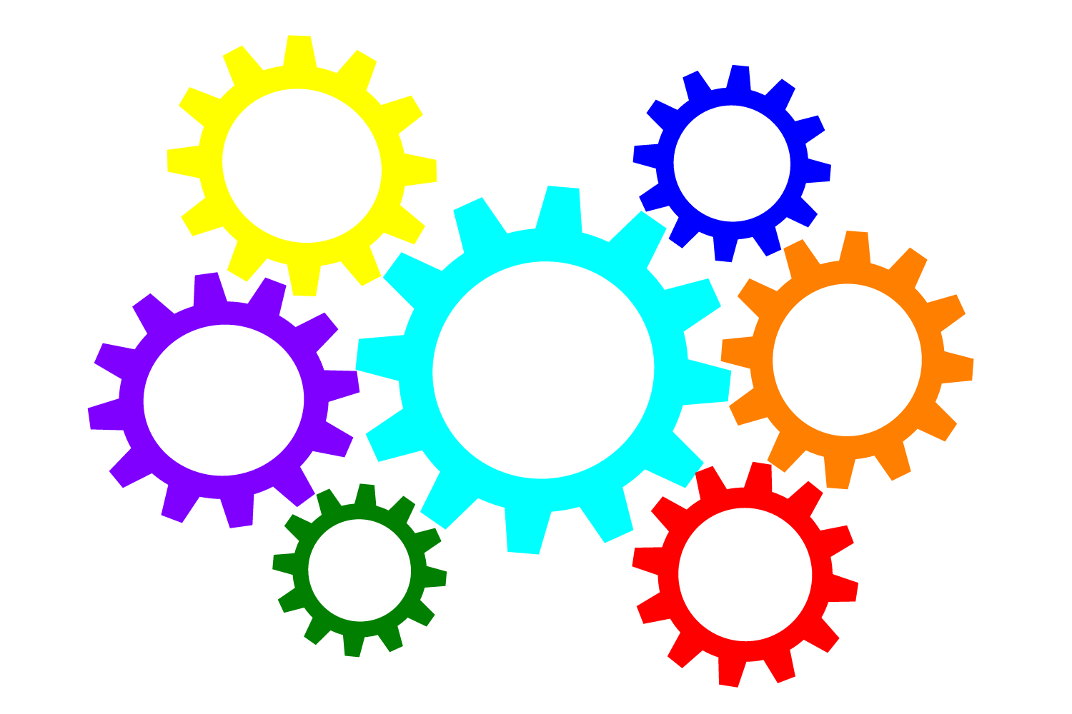 Gears clipart clock gear Emaze clipart Animated gears collection