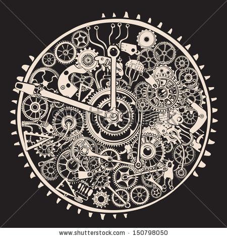 Gears clipart clock mechanism Of Gears Kinetic  art