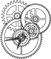 Clockwork clipart machine gear Steampunk Inspiration  gears Google