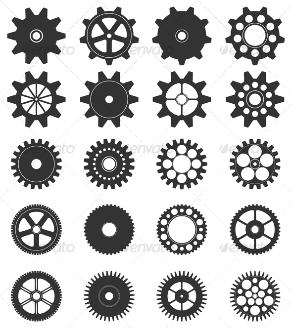 Gears clipart drawn Google Steampunk tutorial Google Search