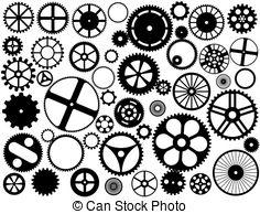 Gears clipart gear wheel Gear size Stock gears and