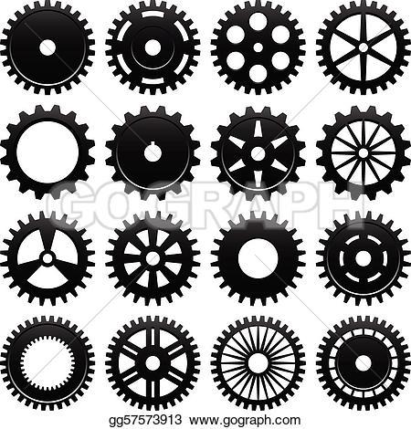 Gears clipart gear wheel Design Gears Free Clip GoGraph