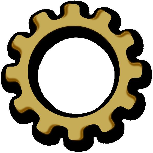 Gears clipart gear wheel This Art vector at clip