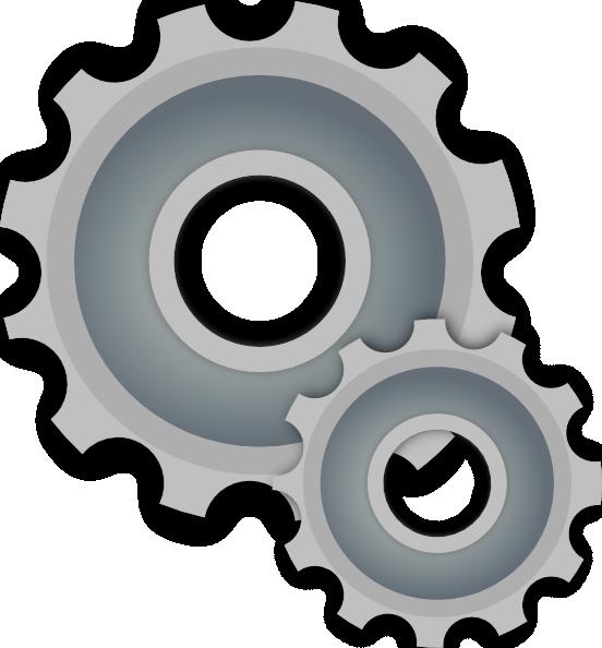 Gears clipart gear wheel This at clip Clker art