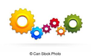 Gears clipart gear wheel Gear colored wheel gear