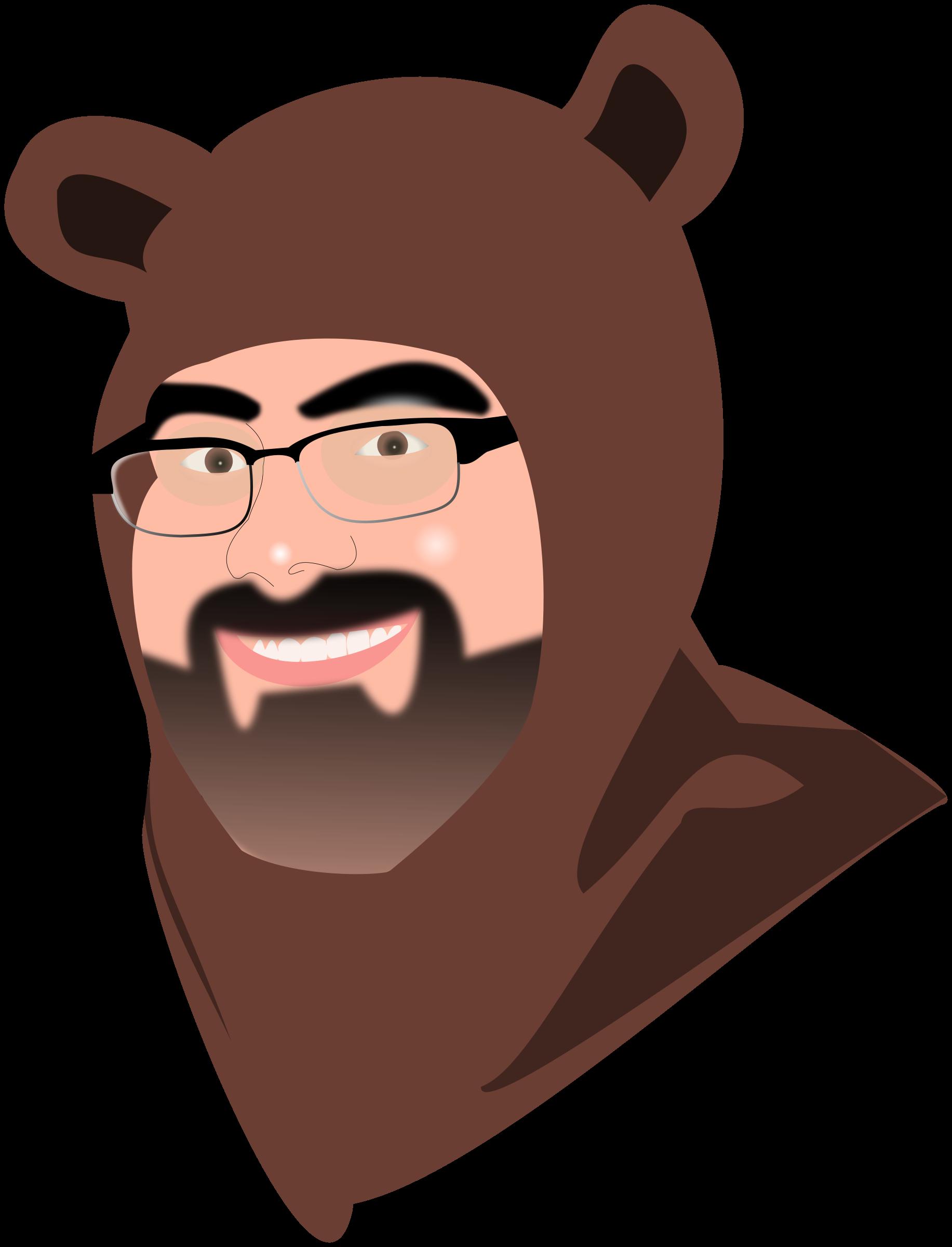Furry clipart big bear #1